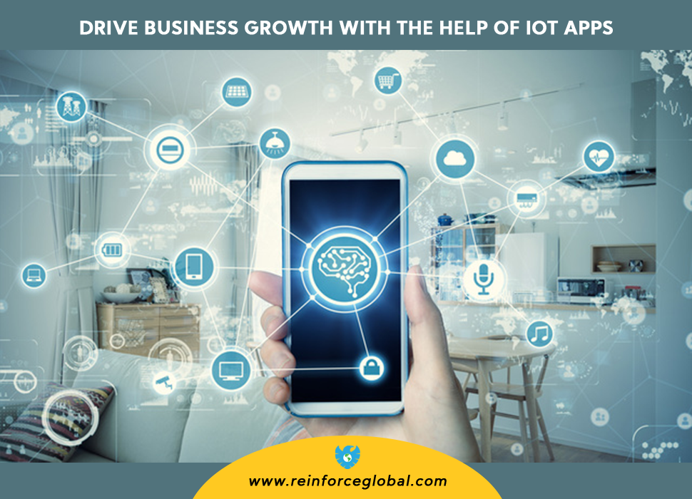 Drive Business Growth with the help of IoT Apps