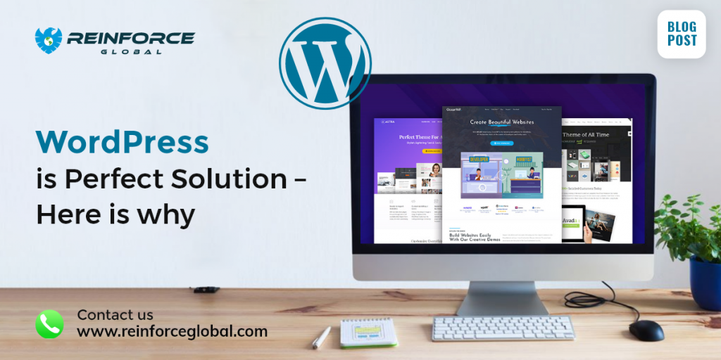 WordPress is Perfect Solution